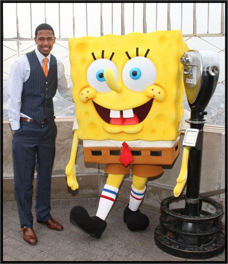 nick-cannon-and-spongebob