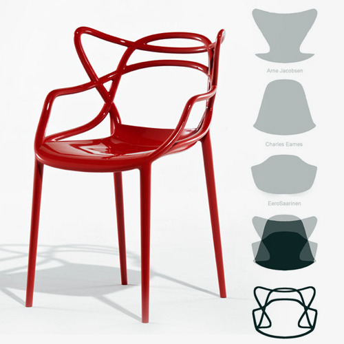 masters chair par starck | the yellow kid - Chaises Philippe Starck Kartell