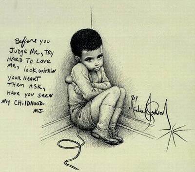 dessin de michael jackson