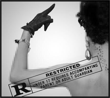rihanna cover nouvel album rated r