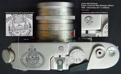 Leica M6 platine Sultan