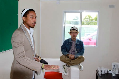 pharrell et nigo meditation