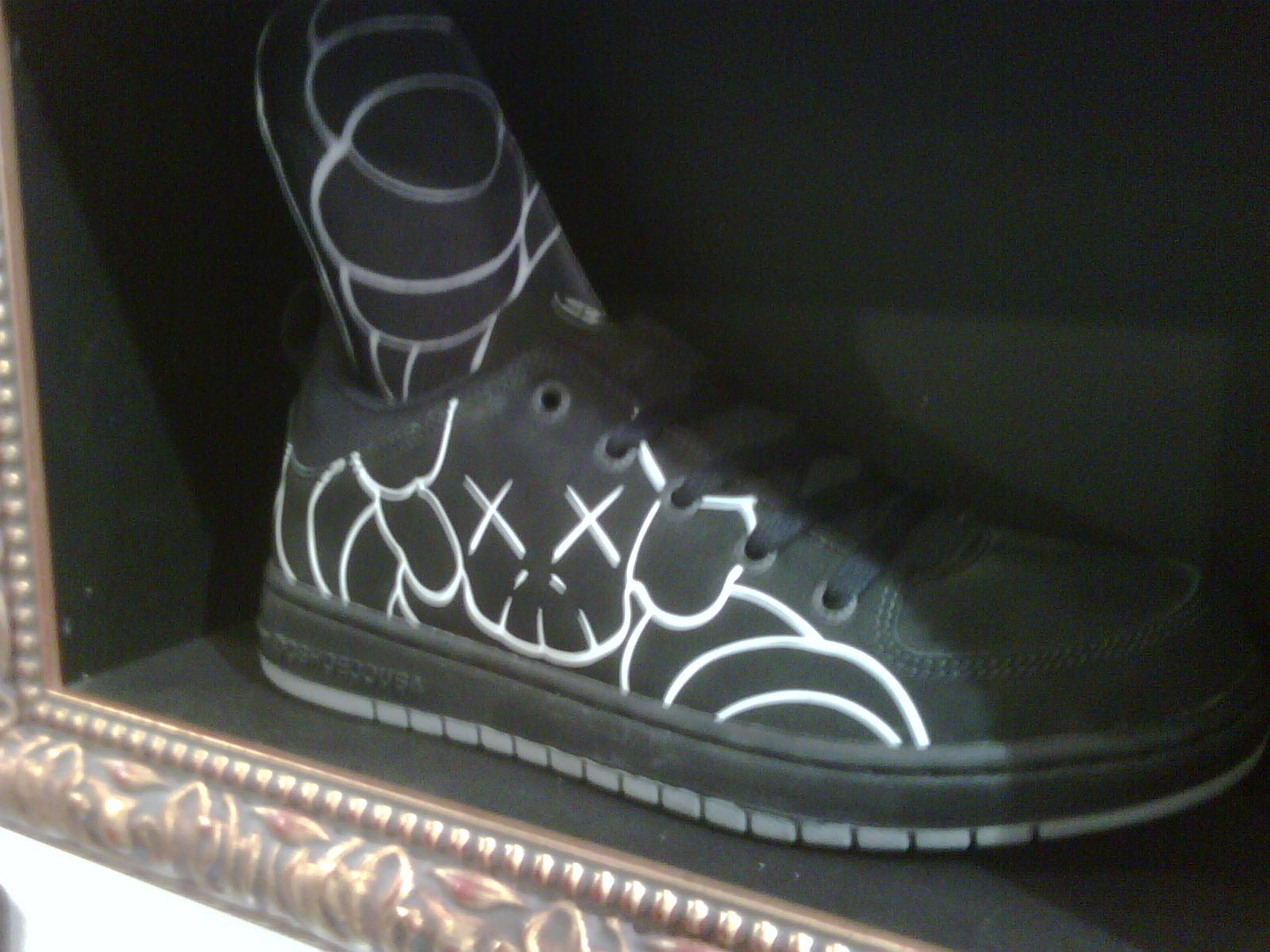 dc x shoes up kaws
