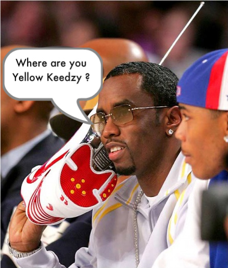 diddy where are you yellow keedzy