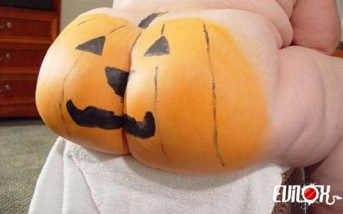 halloween fesses cul