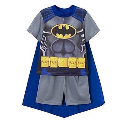 pyjama batman cape