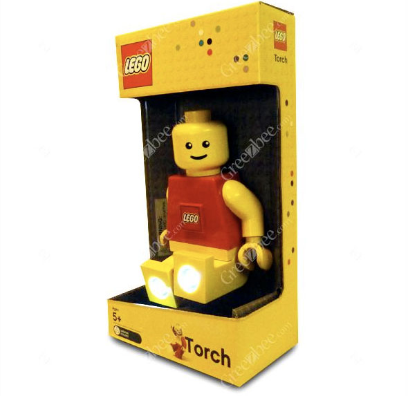 lampe torche lego the yellow kid. Black Bedroom Furniture Sets. Home Design Ideas