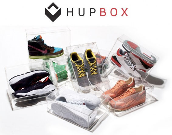 Hupbox la bo te chaussures transparente the yellow kid - Boite chaussure transparente ...