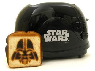 Toaster star wars dark vador the yellow kid - Grille pain dark vador france ...