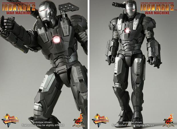 figurine iron man war machine