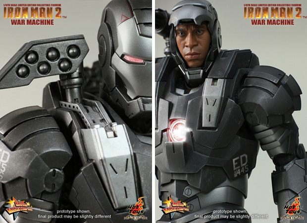 Hot Toys Figurine 1/6 War Machine Mark 2  Iron Man 3