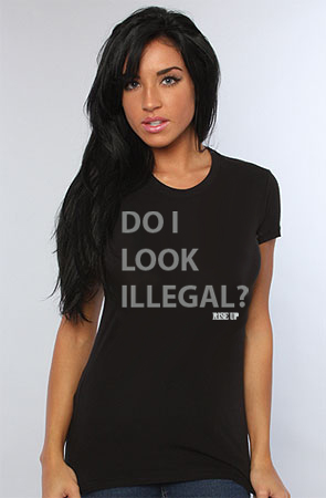 Do I Look Illegal Gifts on Zazzle